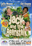 JACK AND THE BEANSTALK CHRISTMAS PANTOMIME - LEAFLET; DEC 2012; 201212NG