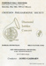 CROYDON PHILHARMONIC SOCIETY DIAMOND JUBILEE CONCERT; MAY 1974; 197405FA