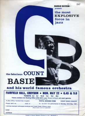 FLYER JAZZ COUNT BASIE; MAY 1967; 196705BE