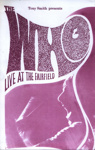 PROGRAMME THE WHO; SEP 1969; 196909BE