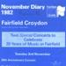 DIARY ROYAL PHILHARMONIC ORCHESTRA 20TH ANNIVERSARY ARTHUR DAVIDSON BBC'S FRIDAY NIGHT IS MUSIC NIGHT; NOV 1982; 198211FE