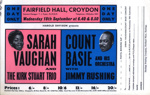 FLYER COUNT BASI SARAH VAUGHN; SEP 1963; 196309B0
