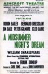 FLYER ASHCROFT SHAKESPEARE MIDSUMMER NIGHTS DREAM JIM DALE BERNARD BRESSLOW CLEO LAINE; SEP 1967; 196709BC