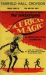FLYER NATIONAL DANCE COMPANY OF SENEGAL; JUN 1965; 196506BK