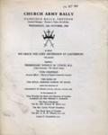 CHRUCH ARMY RALLY ARCHBISHOP OF CANTERBURY; OCT 1968; 196810BG