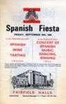 PROGRAMME SPANISH FIESTA; SEP 1966; 196609BL