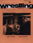 PROGRAMME WRESTLING LEON ARRAS BRIAN GLOVER; OCT 1974; 197410BB