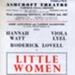 FLYER ASHCROFT LITTLE WOMEN CAMERON MACKINTOSH; OCT 1967; 196710BC
