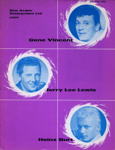 GENE VINCENT JERRY LE LEWIS HEINZ BURT; MAY 1963; 196305BG