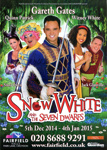 SNOW WHITE AND THE SEVEN DWARFS CHRISTMAS PANTOMIME - FLYER; DEC 2014; 201412NA