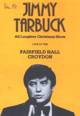 PROGRAMME COMEDY JIMMY TARBUCK; DEC 1984; 198412FC