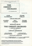 THE CHERRY ORCHARD PROGRAMME - THEATRE ; SEP 1983; 198309MA