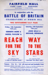 FLYER BATTLE OF BRITAIN RAF; SEP 1963; 196309BG