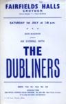 FLYER THE DUBLINERS; JUL 1967; 196707BG