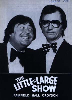 PROGRAMME LITTLE AND LARGE COMEDY; MAR 1978; 197803BG