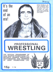 PROGRAMME WRESTLING MICK MCMANUS; MAY 1982; 198205FC