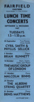 FLYER LUNCHTIME CONCERTS AUTUMN 1967; SEP 1967; 196709BD