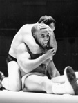 PHOTO FAIRFIELD FIRST WRESTLING MATCH; NOV 1962; 196211HG