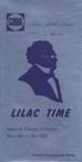 PROGRAMME CODA LILAC TIME; NOV 1968; 196811BI