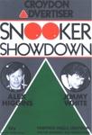 PROGRAMME SPORT ALEX HIGGINS JIMMY WHITE; MAR 1986; 198603FE