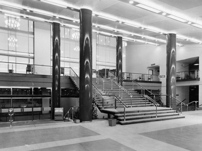 PHOTO FAIRFIELD HALLS FOYER; NOV 1962; 196211LI