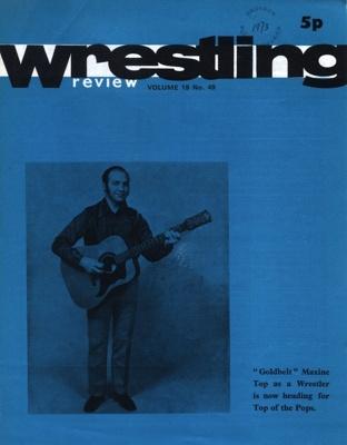 WRESTLING PROGRAMME MAXINE TOP; JAN 1973; 197301BB