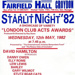 Larry Grayson, special guest star; MAY 1982; 198205GD London Club Acts Awards