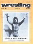 PROGRAMME WRESTLING JOHN ENGLAND; FEB 1979; 197902FA