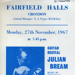 FLYER CLASSICAL GUITAR JULIAN BREAM; NOV 1967; 196711BS