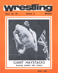 PROGRAMME WRESTLING GIANT HAYSTACKS; SEP 1979; 197909FC
