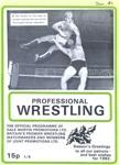 PROGRAMME WRESTLING PAT ROACH; DEC 1981; 198112FK