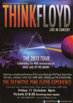 THINK FLOYD - LEAFLET; OCT 2013; 201310NE