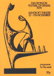 PROGRAMME CROYDON FESTIVAL OF DRAMA; NOV 1979; 197911FA