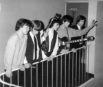 PHOTO THE ROLLING STONES AT FAIRFIELD HALLS ON 12TH APRIL 1964; APR 1964; 196404LM ROLLING STONES AT FAIRFIELD