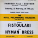 FLYER CLASSICAL ROYAL PHILHARMONIC ORCHESTRA HYMAN BRESS FISTOULARI; FEB 1963; 196302BI
