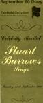 DIARY COVER MUSIC STUART BURROWS; SEP 1980; 198009FA