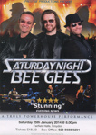 SATURDAY NIGHT BEEGEES - LEAFLET; JAN 2014; 201401NE