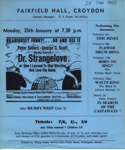 FLYER FILM DR STRANGELOVE; JAN 1965; 196501BI