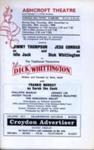 FLYER PANTO DICK WHITTINGTON BETTY ASTELL JESS CONRAD CAST; DEC 1968; 196812BC