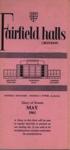 DIARY MAY 1963; MAY 1963; 196305BA