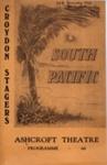 PROGRAMME CROYDON STAGERS SOUTH PACIFIC; JAN 1963; 196301BK