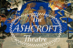PHOTO ASHCROFT THEATRE SAFETY CURTAIN HENRY BIRD DETAIL; AUG 1982; 198208FP