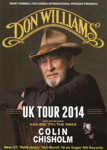 DON WILLIAMS - FLYER; MAY 2014; 201405NE
