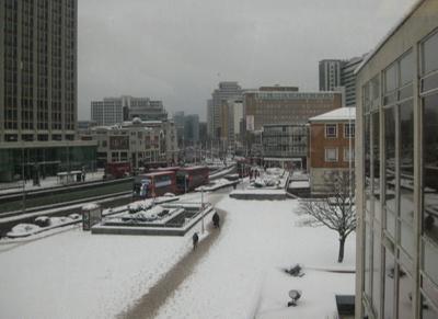 PHOTO FAIRFIELD CROYDON SNOW; NOV 2010; 201011FM