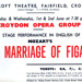 FLYER OPERA THE MARRIAGE OF FIGARO; JUN 1965; 196506BC