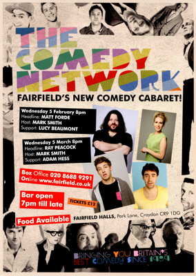 COMEDY NETWORK - LEAFLET; FEB 2013; 201302NA