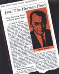 PROGRAMME WOODY HERMAN JAZZ; JUL 1964; 196407BC