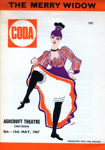 PROGRAMME CODA THE MERRY WIDOW; MAY 1967; 196705BO
