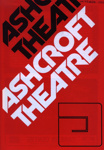 ASHCROFT THEATRE PROGRAMME; OCT 1977; 197710BB