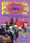 INTERNATIONAL PLAYWRIGHTING FESTIVAL - FLYER; MAY 2014; 201405NG
